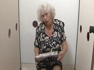 Norma gets fucked Granny norma gets a surprise at the gloryhole