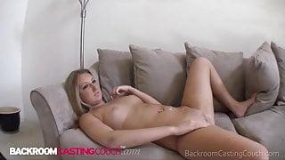 Cute Blonde Summer Cums For Modeling Gig & Gets Cock Instead