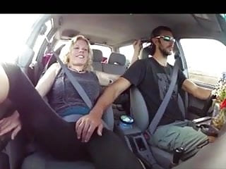 Gay men ticked till cum Blonde gets fingered till cum in the car