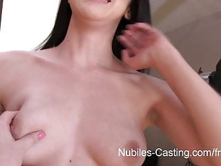 Teen vouge jobs Nubiles casting - cum swallowing cutie really wants this job