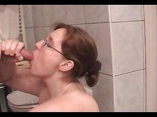 Nose up pussy He got cum up her nose