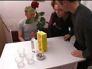 Russian father insest porn video - Russian orgy with father and girlfriend