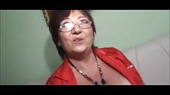 Granny gets Facial
