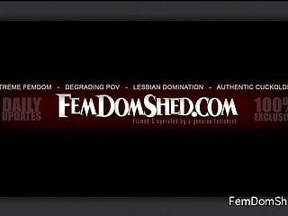 Lezdom hogtied fucked Femdom - lezdom face slapping female domination