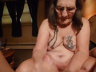 Threatening him with his fist Fist fucking my husband making him cum i am his whore