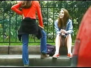 Upskirt teens spy Spying upskirt girl in french street bvr
