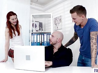 Daddy fucks son video Bisex step-daddy fucks his son and his gf