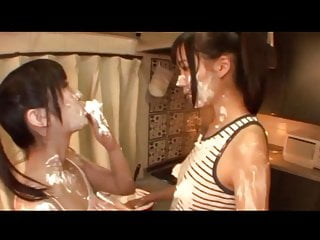 Lesbian was messy vacuum bed Messy japanese girlfriends