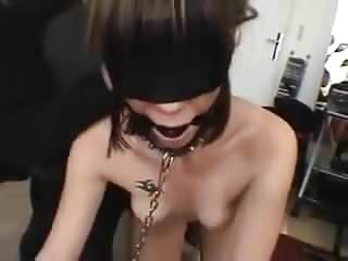 Use anal toys French slavewife used by guys and pissed on
