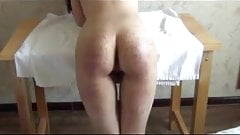 Asian figging and spanking 2