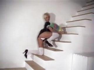Jo guest free hardcore Joanne guest - striptease as french maid