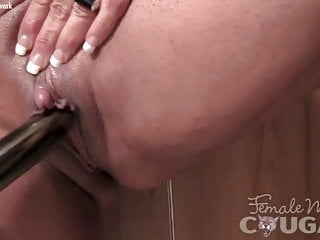 Education on female clit Female muscle cougar with a big clit