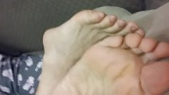 ACTUAL MOM'S FEET AND SOLES 4-15-2020