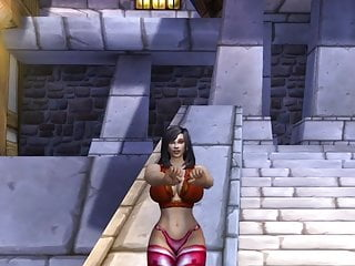 Sexy girls in world of warcraft Human female sexy dance world of warcraft thick mod