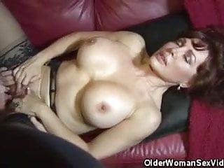 Vanessa lesbian Busty matures june and vanessa lesbian action