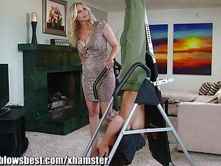 Julia ann porn pics and vids Mommybb busty milf julia ann is sucking my tied up boyfriend
