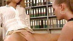 Lesbenspiele am Arbeitsplatz  by  nano