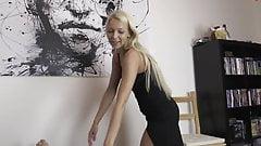 Hot Blonde Escort gets Creampie