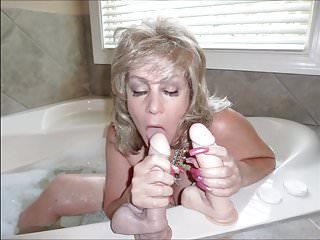 Big cocks cum bath - Cum bath 2 with long nails