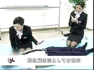 Vaginal tightening procedure ga virgin Japanese stewardess demonstrates proper cpr procedures