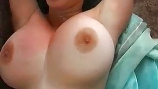 Big titted solo