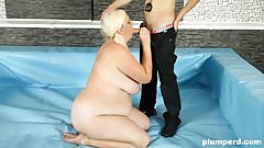 Plumperd.com BBW Monika gets her pussy drilled