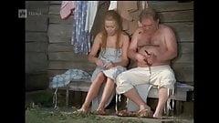 Scene with Leonov golyy in sauna , naked , daddy bear