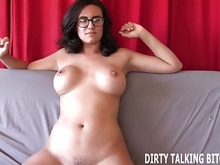 Stare at my tits - Stare at my amazing tits while you jerk it joi
