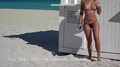 Naughty Bikinis at the PUBLIC beach