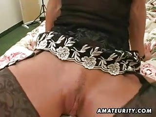 Mature cum in mouth Naughty amateur wife plays with cum in mouth