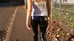 Skintight Fetish Leggings Compilation