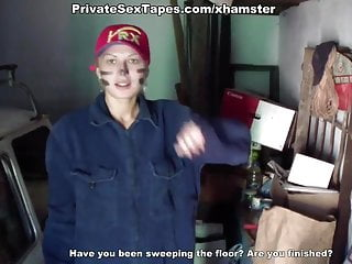Free mature private couple movie - Dirty girl amateur sex free in the private garage