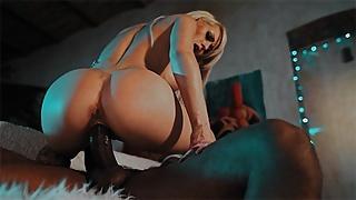 BBC fucks hard spank and bang for streaper exgirlfriend