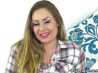 Milf sophia British milf sophia delane spreads her fuckable fanny