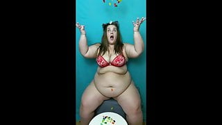 Bbw gummy bears giant belly pmv