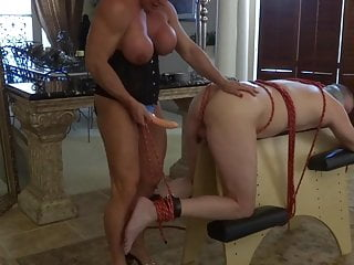 Down syndrome fuck - Muscle bitch ties him down and fucks him
