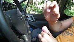 Public FLASH Car Watching MILF4