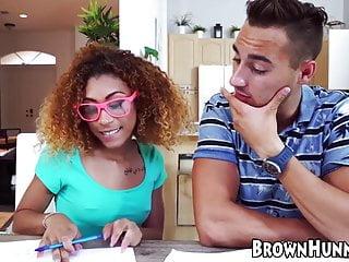 Ebony porn teacher Tiny ebony kendall woods seduces tutoring teacher