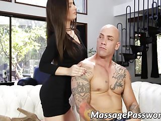 Derrick davenport cum Model looking lacey channing hammered hard by derrick pierce