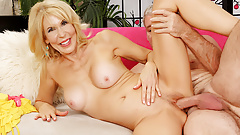 Blonde GILF Erica Lauren Rides a Lucky Geezers Cock