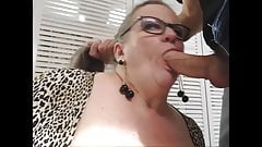 Mature Wife Plays with her Toy Boy. Nut Snatching. GILF