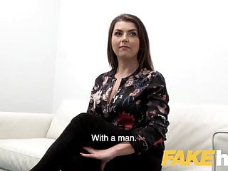 Slow sex porn Fake agent hot slow sex with hot tight shaven pussy