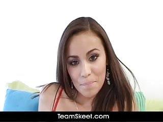 Hd sucking small tits Oyeloca hot small tits latina any vega sucks fucks big cock