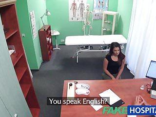 Sexy nurse examination - Fakehospital doctor examines cute hot sexy patient
