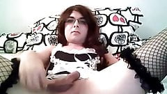 little white castrated sissy slave