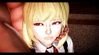 Touhou - Rumia the Dark Girl Sex