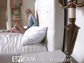 Women walks in on naked guy - Spyfam step dad walks in on naked step daughter