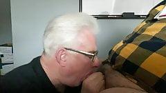 Blowjob from a grandpa