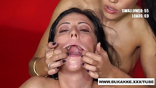 Beautiful Sherry Vine and Her Friend GetsHeavy Facial