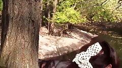Christina carter at tree